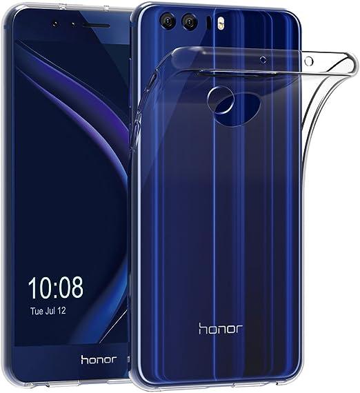 AICEK Funda Honor 8, Huawei Honor 8 Funda Transparente Gel ...