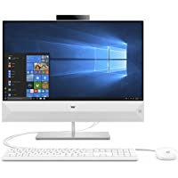 "HP Pavilion All-in-One 24-xa0011nl, AMD Ryzen™ 3 2300U, 8 GB di RAM, SSD da 256 GB, Schermo WLED 23,8"" FHD, Bianco"