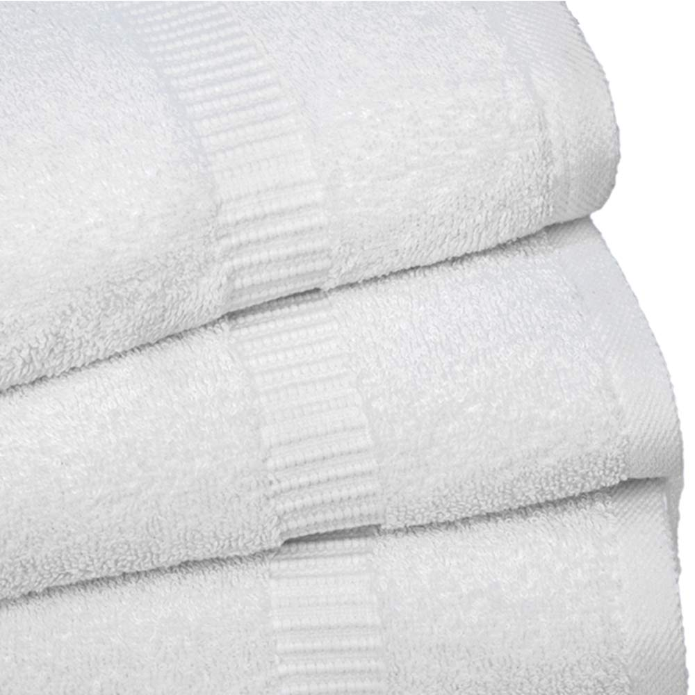 Forte Lighting Luxury Hand Towels-Bathroom-Kitchen-Hotel-Spa- 100% Combed Cotton- Soft Plush Feel Highly Absorbent-Hypoallergenic Face Towels- 16 x 30-120 Piece Wholesale Pack by Forte Lighting (Image #3)