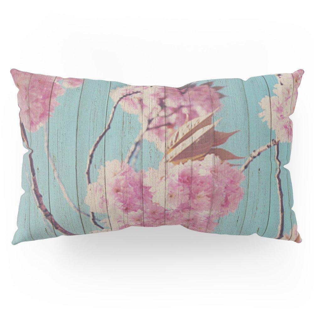 Society6 Sweet Flowers On Wood 06 Pillow Sham King (20'' x 36'') Set of 2