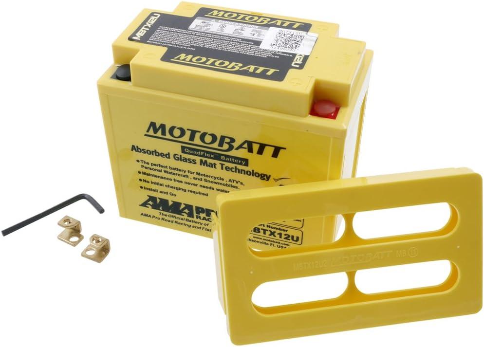 Batterie MOTOBATT f/ür Harley Davidson 1200 X Forty Eigth XL2 2010-2015 inkl. 7.50 Euro Batteriepfand