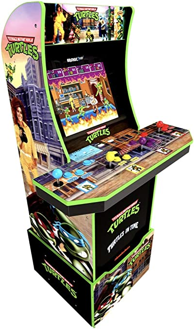 Teenage Mutant Ninja Turtles Arcade Machine w/ Riser, Arcade1UP