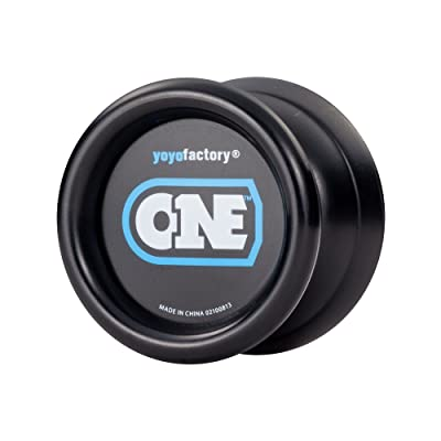 YoYoFactory ONE Ball Bearing Professional Trick YoYo - Black: Toys & Games