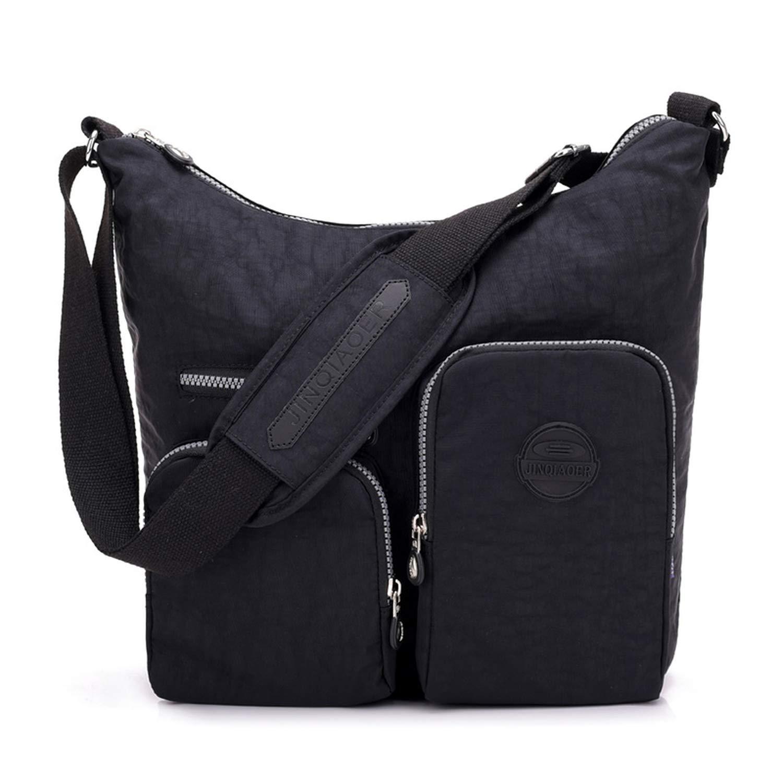 Amazon.com: Waterproof Women Messenger Bag Double Shoulder ...
