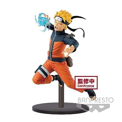 Banpresto Naruto Shippuden Vibration Stars-Gāra & Uzumaki Naruto-(B: Uzumaki Naruto): Toys & Games