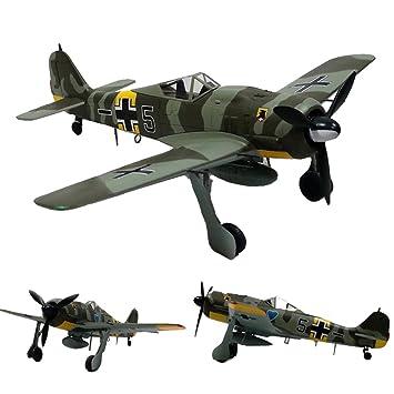 1:72 Escala FW-190 Modelo De Combate Diecast, Avión De ...