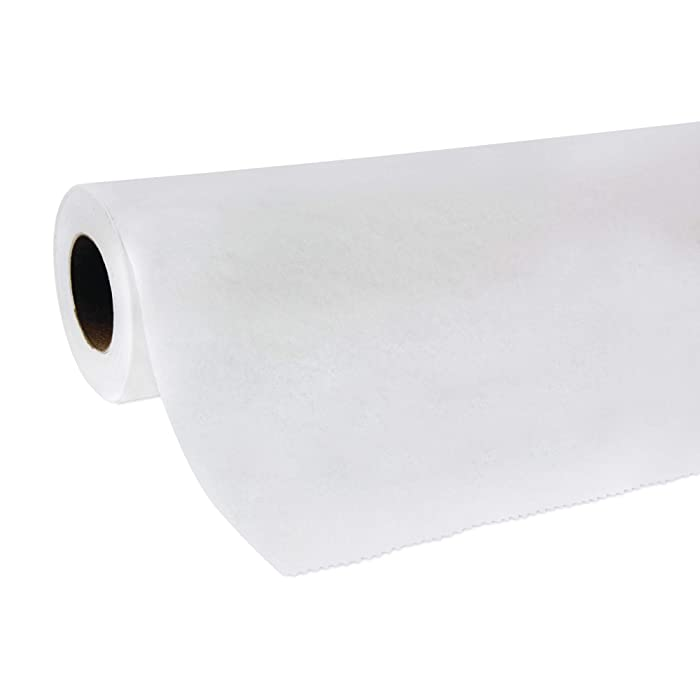 McKesson Exam Table Paper Smooth 21 Inches by 225 Feet White 18-914, (Case of 12)