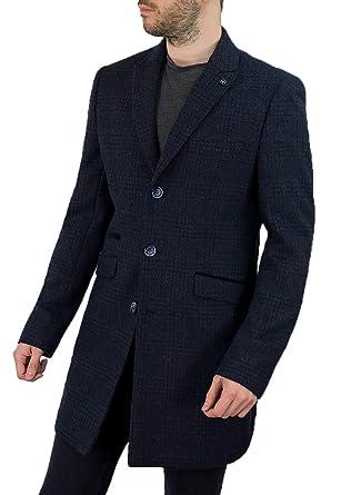 online store e62c7 31b32 Cavani Uomo Danilo vestibilità Slim Vintage Cappotto Giacca ...
