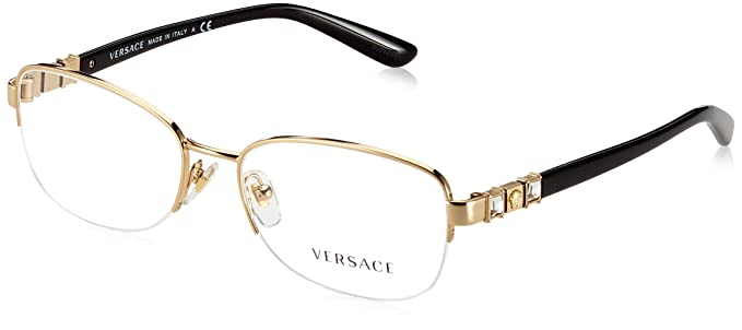 a9b1e9f57370 Image Unavailable. Image not available for. Colour: Eyeglasses Versace VE 1230B  1000 SILVER