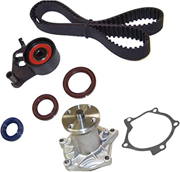 Amazon Com Dnj Tbk305wp Timing Belt Kit With Water Pump For 1988 1997 Honda Isuzu Amigo Passport Pickup Rodeo Trooper 2 6l Sohc L4 8v 2559cc 4ze1 Automotive