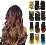Best Wavy Hairs - PrettyWit 18-20 Inch Long Clip in on Hair Review