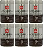 Illy Monoarabica Whole Bean, Single Origin Brazil Coffee Beans 8.8 Ounce (Pack of 6)