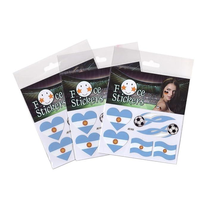 Langning World Cup 2018 Banderas Adhesivas Rusia de fútbol Juego ...