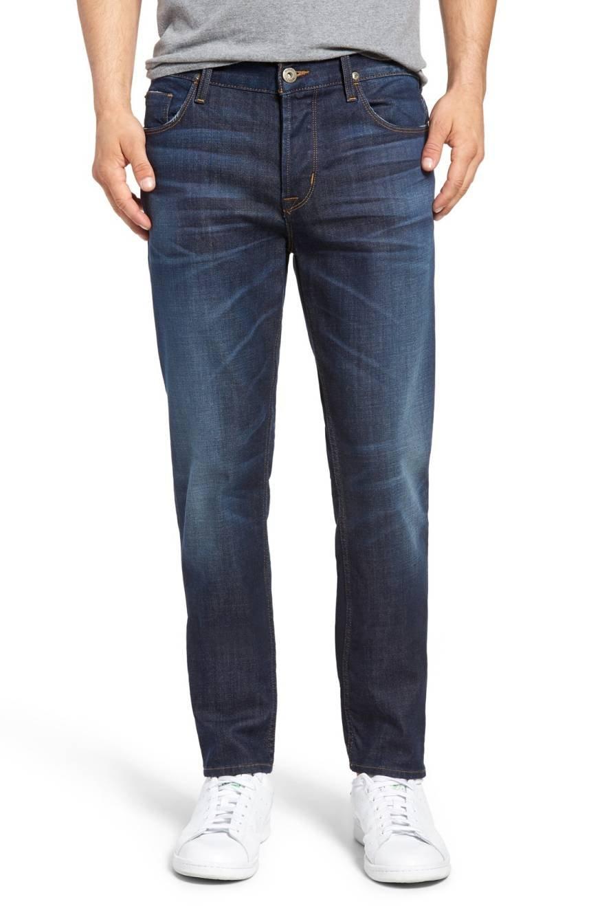 Hudson Men's Sartor Slouchy Skinny-Fit Jeans (36, Unplug)