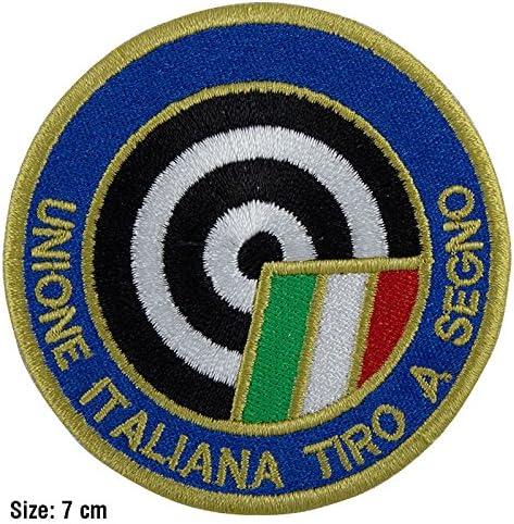 Patch, parche bordado Termoadhesivo,, tiro a Signo Selección al Diana,: Amazon.es: Hogar