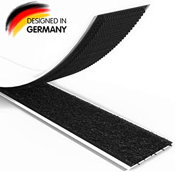 Klettband  Flauschband 20mm Selbstklebend schwarz 4.50 EUR//Meter