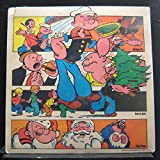 Popeye And Friends - 4 Exciting Christmas Stories - Lp Vinyl Record