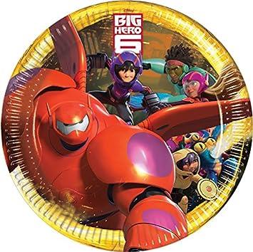 Unique Party 72044-2.6m Disney Big Hero 6 Bunting Banner