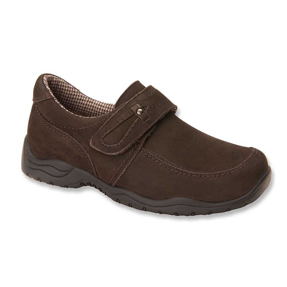 6 W Polyurethane Drew Shoe Womens Antwerp Loafers Brown Nubuck