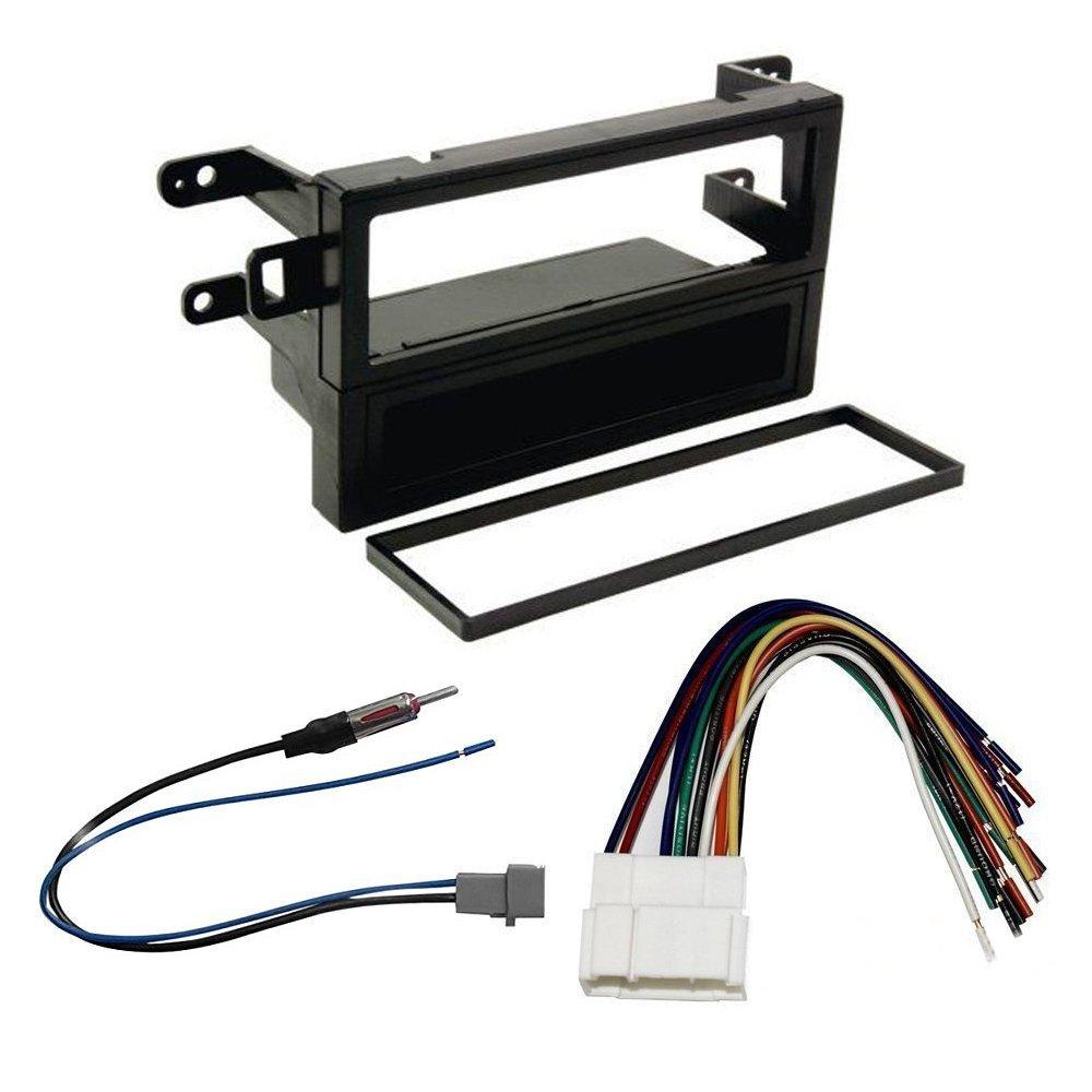 Amazon.com: Honda Accord 1998-2002 Dash Kit + Wire Harness + Radio Antenna  Adapter: Car Electronics