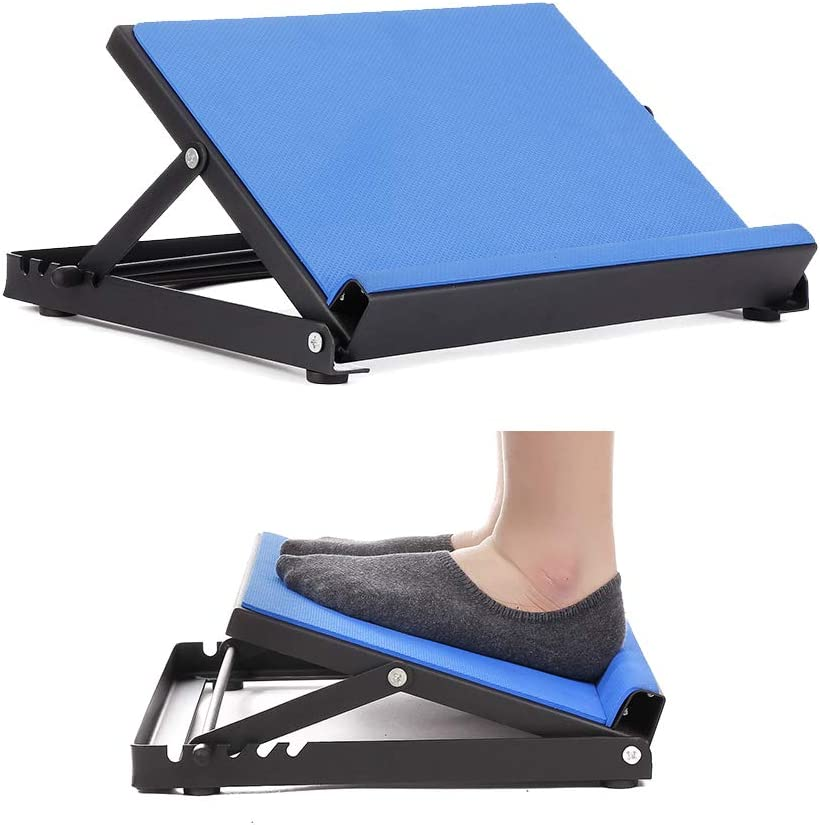 NEPPT Slant Board Calf Stretcher Stretch Wedge Incline Achilles Tendon Stretcher Leg Hamstring Foot Plantar Fasciitis Flexibility Stretching Wedge Device Adjustable Physical Therapy Equipment