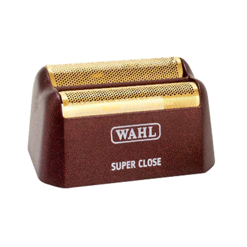 Wahl Replacement Shaving Head & Cutter Blades with Hypo-Allergenic Silver Foil Head with Bump Prevent Technology, Detaches Easily for Cleaning and Sanitation Replacement Shaving Head with Hypo-Allergenic Gold Foil Head with Bump Prevent Technology, Detaches Easily for Cleaning and Sanitation
