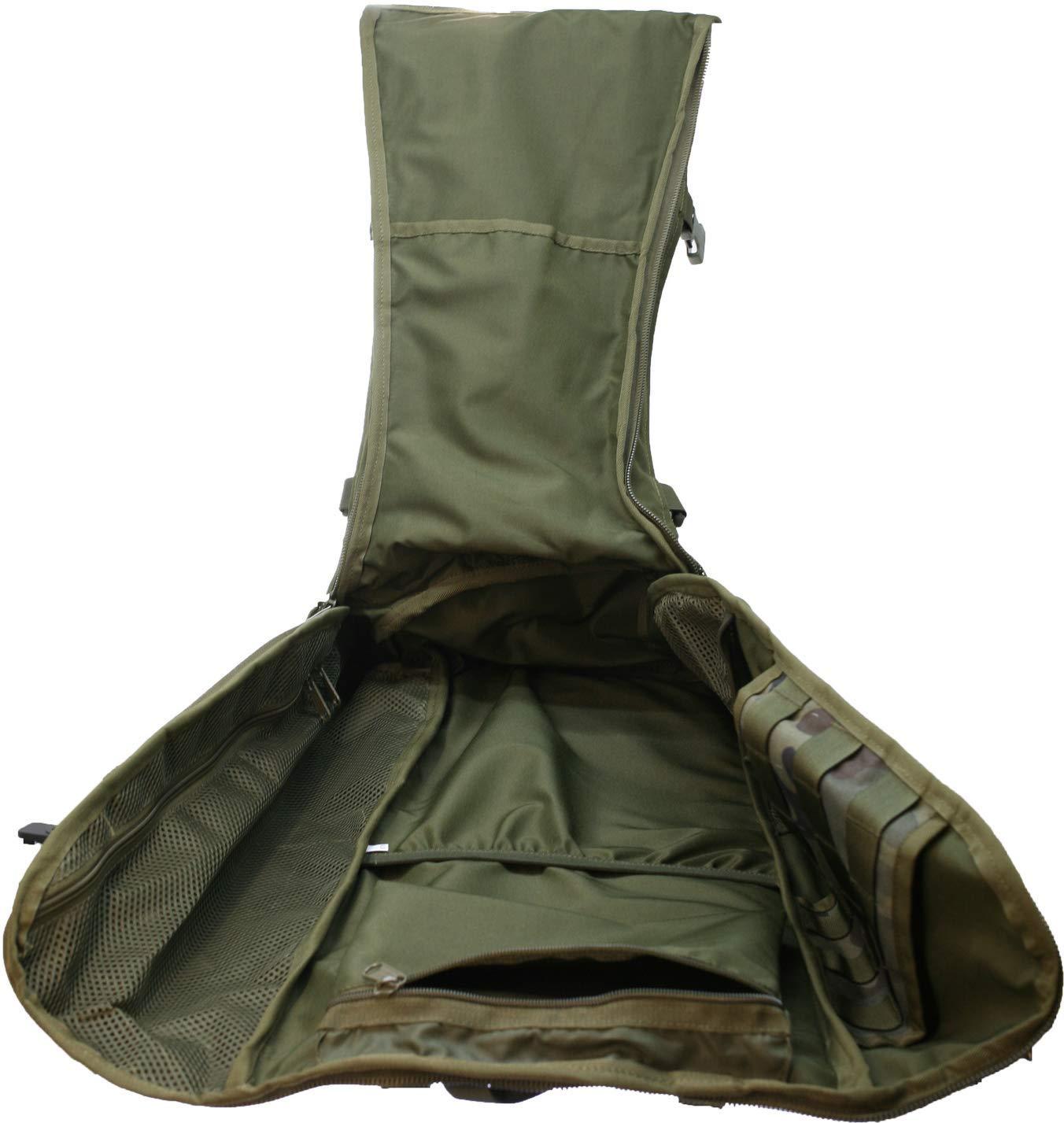 Acampan Militar Produttore dellesercito polacc MOLLE 5 anni di garanzia! Senderismo Pesca Cordura WiSPORT/® Zipperfox Mochila 25L o 40 litros