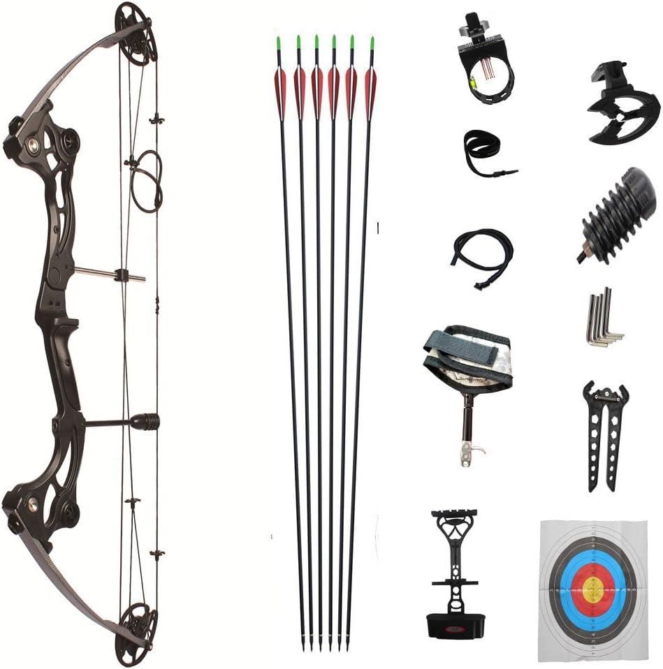 DLGLOBAL アウトドア コンパウンドボウ 複合弓 右利き M153