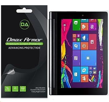 Dmax Armor [3-Pack] for Lenovo Yoga Tablet 2 10 inch Anti-Glare & Anti-Fingerprint Screen Protector