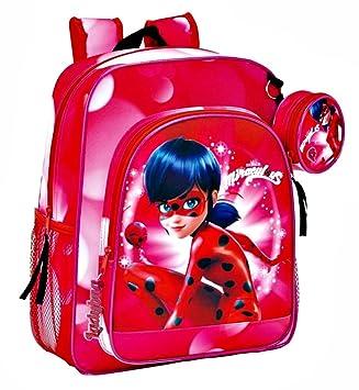 Safta Lady Bug Miraculous 611712640 Mochila Infantil: Amazon.es: Equipaje