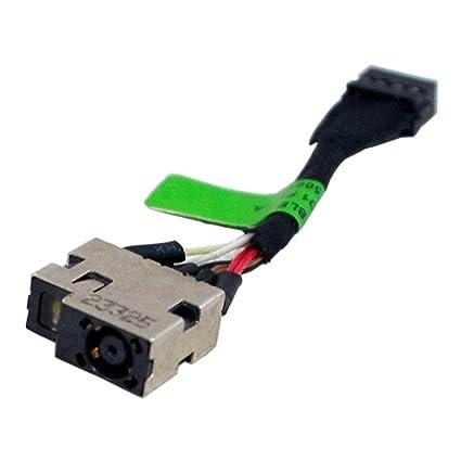 DC POWER JACK CABLE For HP Pavilion 15-p233nr 15-p151nr 15-P051US 15-P030NR 5cm