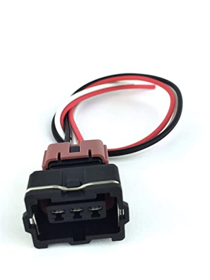 amazon com: maf mass air flow sensor connector pigtail for 89-90 nissan 240sx  ka24e s13 sohc: automotive