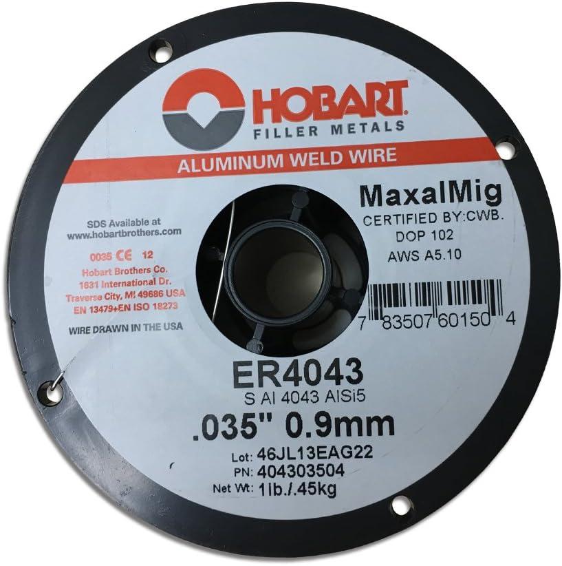 """1 lb 4/"""" Spool .030/"""" 4043 Aluminum Mig Weld Welding Wire"""