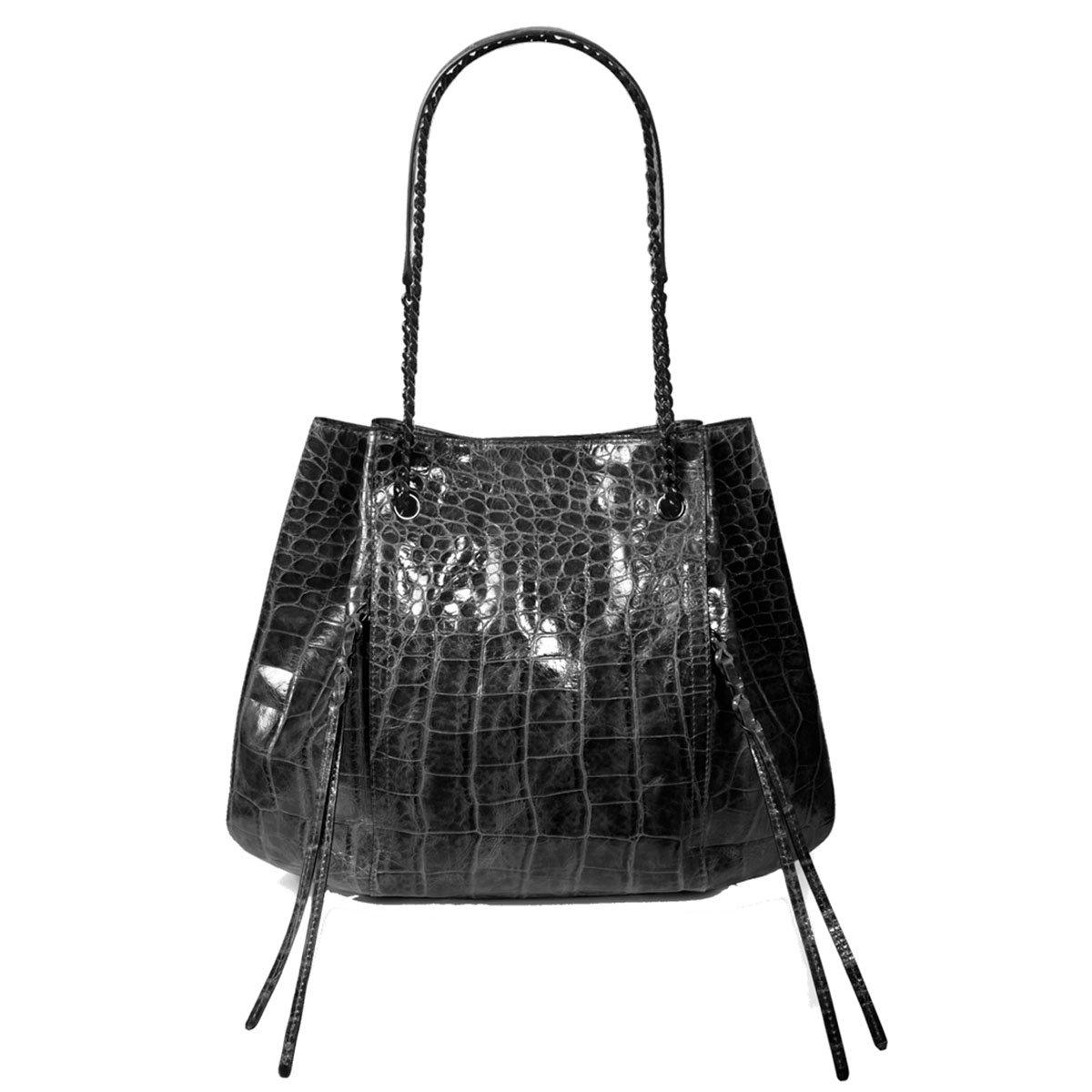 Eric Javits Luxury Designer Women's Fashion Handbag - Leigh Tote - Black