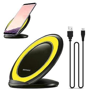 Cargador Inalámbrico, Sannysis Wireless Pad de Carga para ...