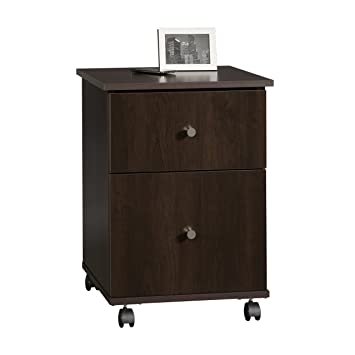 Amazon.com: Sauder File Cart, Cinnamon Cherry Finish: Kitchen & Dining