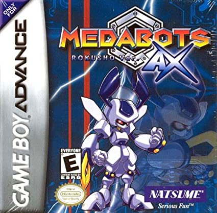 Amazon.com: Medabots AX: Rokusho Version (Blue): Video Games