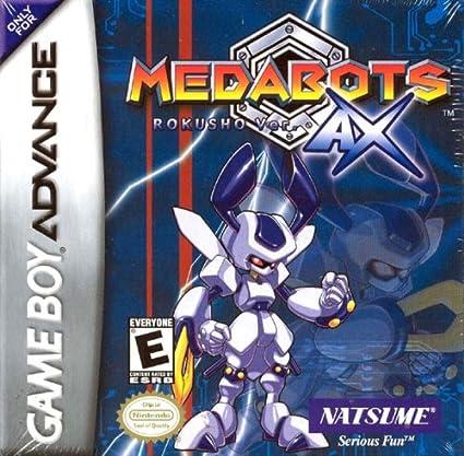 Amazon.com: Medabots AX: Rokusho Version (Blue): Video Games