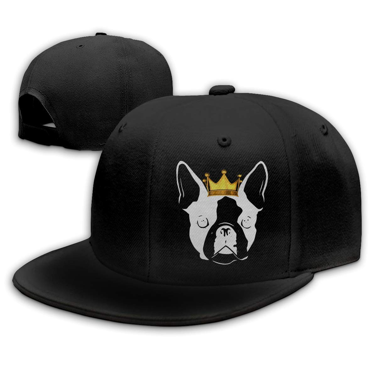 Adult Baseball Gorra, Boston Terrier with Crown Hip Hop Hats ...