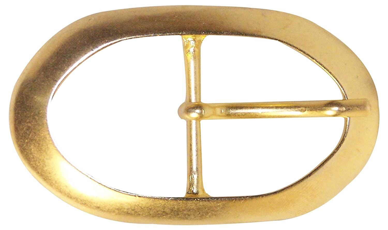 Fronhofer Ovale Gürtelschnalle gold, Dornschnalle, Damen, 3 cm, 18338 Größe:One Size Farbe:Gold