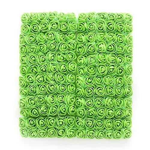 green rose heads - 3