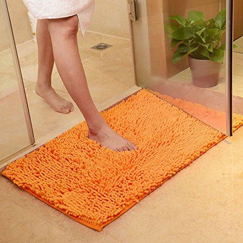 - WDDH Bath Mats Pet Square Soft Non-slip Machine Washable Absorbent Door Carpet