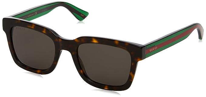Gucci 0001S, Gafas de Sol para Hombre, Marrón, 52: Amazon.es ...