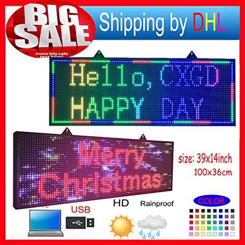 Programmable led sign full color 39