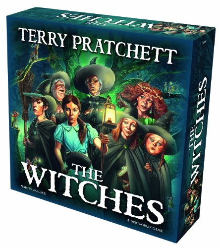 Discworld The Witches Board - Map Mayfair