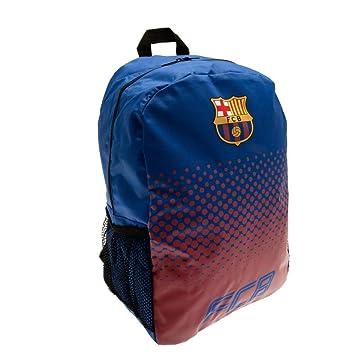 1743b2a8883 Barcelona FC Football Club Backpack Rucksack Bag Red Blue Fade Design  Official