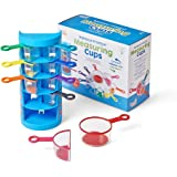 hand2mind Rainbow Fraction Measuring Cups, Fractions Manipulatives, Kids Measuring Cups, 4th Grade Math Manipulatives, Baking