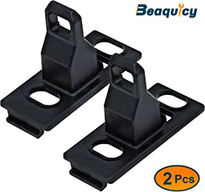 8181651 Front Load Washer Door Latch Strike by Beaquicy - Replacement for Kenmore Whirlpool Washing Machine 2 Pack
