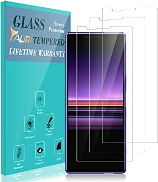 TAURI Protector de Pantalla para Sony Xperia 1 [3 Piezas] [2.5D ...