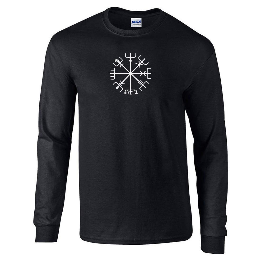 Viking Compass Symbol Men Long Sleeves T-Shirt